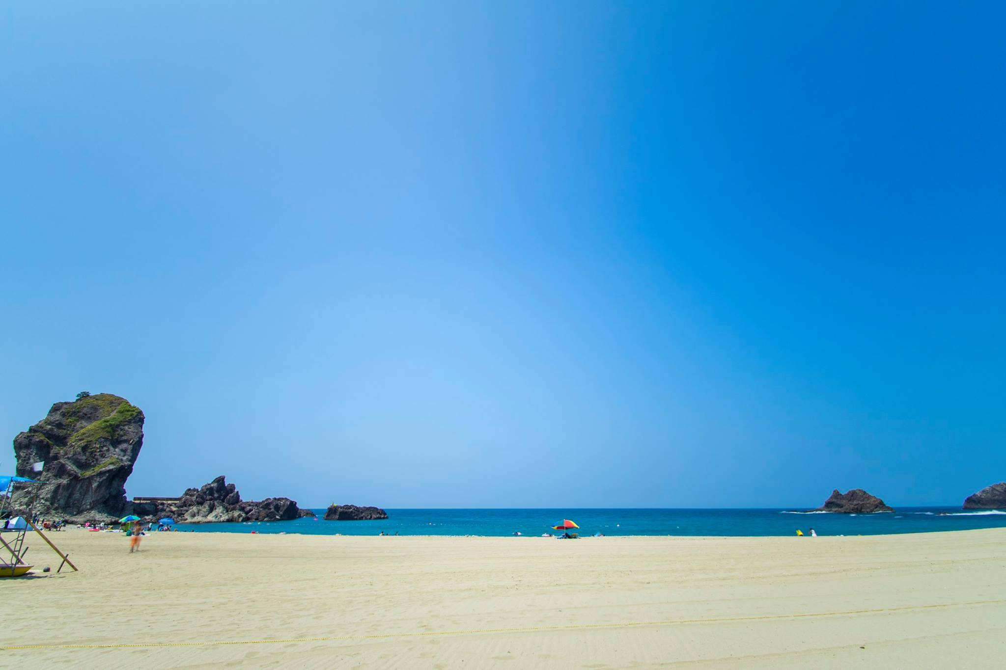 夏の三瀬海岸