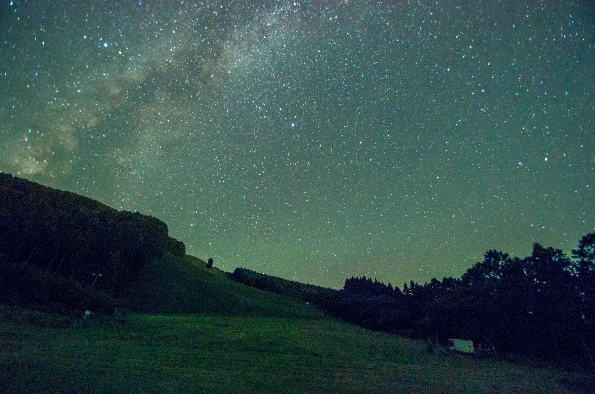 八森山の星空
