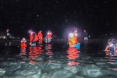 夏の夜の三瀬海岸、夜光虫ウオッチング