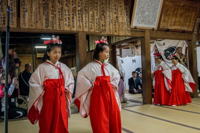 三瀬気比神社・お田植祭り